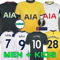 Wholesale home kits resale online - Men KIDS KIT KANE SON BERGWIJN NDOMBELE Soccer Jerseys LUCAS DELE TOTTENHAM jersey Football kit shirt LO CELSO HOME BALE