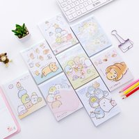 Wholesale promotional notepads for sale - Group buy Lovely Sumikko Gurashi Creative Cartoon DIY Soft Cover Mini Notebook Diary Pocket Notepad Promotional Gift Stationery