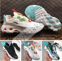 Wholesale basketball shoes size 5.5 8.5 resale online - Women React Art3mis Chunky Dunky Milk Black White Bright Crimson Girls Running Shoes ladies Outdoor Sport Trainers Sneakers Size