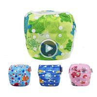 Wholesale swim diapers resale online - 50pcs Unisex One Size Waterproof Adjustable Swim Diaper Pool Pant Swim Diaper Baby Washable Pool Diaper Y161
