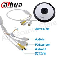 Wholesale dahua poe camera resale online - Dahua MP Panorama Degree POE WIFI IPC EW4431 ASW Fisheye IP Camera Built in MICSmart Detection supported IP Camera IPC