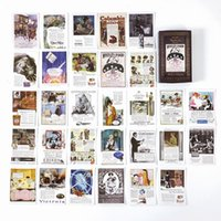 Wholesale walk stickers resale online - Fairy Stickers Bullet Town Lable Walking Journal Diary Stationery Album Series Decorative Scrapbooking Stick Diy Matchbox Retro xoLWE