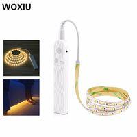 Wholesale woxiu resale online - cgjxs Woxiu Led Light Cabinet Under Super Bright Us Strip Closet Lamp Magnet Workbench Toolbox Retail Showcase Kitchen v Sensor Counte