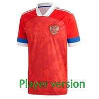 Wholesale russia resale online - Player version European Cup Russia HOME Soccer Jerseys ARSHAVIN MIRANCHUK ZHIRKOV EROKHIN KOMBAROV SMOLOV Football Shirt