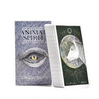 Wholesale playing cards animals for sale - Group buy 63pcs Sheets Tarot Cards The Wild Unknown Animal Spirit Deck Guidebook Table Board Game Card For Family Party Playing Card Games bbytZt