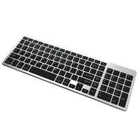 Bluetooth Keyboard Ultra Slim Portable 102 Keys Wireless BT Touchpad Scissors Feet Design Keyboard