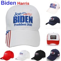Wholesale designer baseball hats for men resale online - USA President Election Party Hat For Joe BIDEN Harris Baseball Cap Gorros Snapback Hats Men Women OWC2423