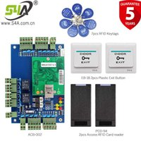 Wholesale ways boards resale online - S4A TCP IP two door access control board can connect to two way wiegand reader and exit button