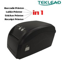 Wholesale stickers printers resale online - TEKLEAD Label printer Thermal Receipt printer in Bill Sticker Barcode printers mm mm for Android iSO windows