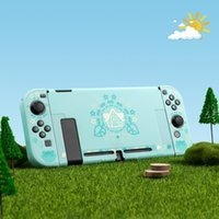 Wholesale games console accessories resale online - Leaf House Switch Protective Shell Anti fall Hard Cover Back Grip Shell NS Game Console Box Case For Switch Accessories