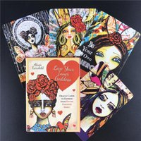 Wholesale express games for sale - Group buy Board Love Goddess Inner Game To Games Tarot Feminine Express Divine Your Oracle Cards Your Spirit Set Cards ZXcNG zbhwss