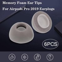 Wholesale foam covers for headphones resale online - Memory Foam Replacement Ear Tips Buds For Pro Headphones gray Cover Earphone Sleeve Noise Reduction g3 car
