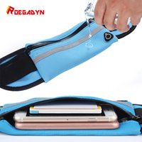 Wholesale water pouches sports resale online - Men Women Fitness Fanny Packs Pouch Mobile Phone Holder Jogging Sports Running Waist Water Bag