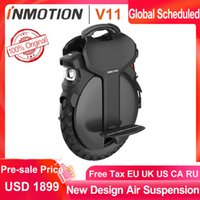 Wholesale scooter handles resale online - INMOTION V11 Unicycle Air suspension V W wh Self Balance Scooter Electric Build in Handle Monowheel Hoverboard
