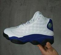 Wholesale kids online games resale online - 2018 White blue s XIII men women Kids Basketball Shoes red Bred He Got Game Black Sneaker Sport Shoes Online Sale