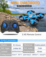 Wholesale airplane remote control for sale - Group buy 2 G Mini Quadrocopter Rotate Set Height Return Home Small Remote Control Airplane Children s Toy