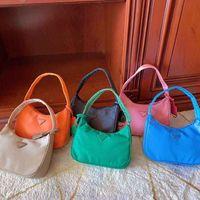 Wholesale hand bags sales resale online - 2020 Fashion Hot Sale Hot Sale Style Designer Brand Underarm Nylon Bag Ladies Shoulder Bag Fashion Hand Purse
