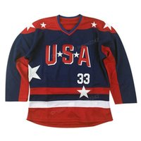 Wholesale mighty ducks for sale - Group buy Cheap Customize Mighty Ducks Team USA Goldberg Hockey Jersey Men s All Stitched Blue Size XS XL XL XL XL Any Name Number
