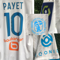 2020 OM Thauvin maillot with OM LOG Payet Benedetto ALVARO RONGIER With Full Soccer Patch Badge