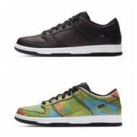 Wholesale woman heated shoes resale online - 2020 Dunk SB Low Civilist x Running Shoes For High Quality Black Heat Source Reaction Mens Skateboard Trainers Women Sports Snea