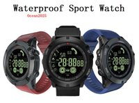Wholesale photo bracelets for resale online - Waterproof Sports Smart Watch Blood Pressure Heart Rate Monitor Control Photo Bracelet For iOS Android With Retail Box