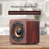 Discount soundbar mini Mini Home theater portable wood Speaker column Bluetooth Wireless speakers Soundbar for TV Subwoofer music center