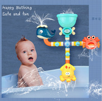 Wholesale toys bathroom for sale - Group buy TWG290A ABS bathroom toys water tube toys animal Educational baby toys eco friendly safe and funny