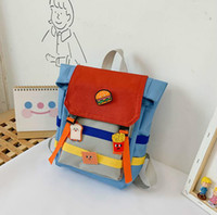 nette rucksäcke groihandel-Ins Girl School Bag Children Kindergarten Boy Backpacks Cute One Shoulder Bag Soft Baby Bags
