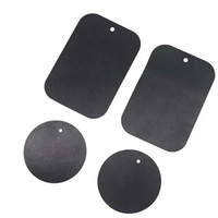 Metal Plate Universal Replacement Kit With Adhesive Magnetic Car Mount Holder Magnet Mobile Phone Stand