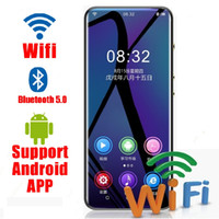 Wholesale wifi mp3 speakers for sale - Group buy 2020 WIFI Android MP3 player Bluetooth Touch Screen inch hifi music mp3 player with Speaker FM Recorder Video