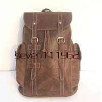 Wholesale women pu leather backpack handbag for sale - Group buy Designer Backpack Mountaineering bag School Backpack Mens Womens Designer Handbags Purse Leather Handbag Shoulder Bag Big Backpack