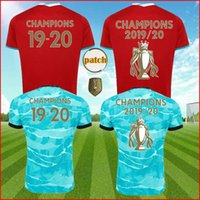 Wholesale jerseys salah resale online - 20 VIRGIL EPL winner Soccer Jerseys TSIMIKAS Salah FIRMINO football kit BECKER ALEXANDER ARNOLD shirts