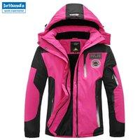 Wholesale red snowboard jackets resale online - Ski Jacket Women Waterproof Winter Snow Jacket Thermal Coat For Outdoor Mountain Skiing Snowboard Brand