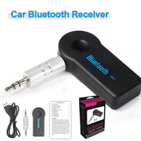 Wholesale phone stereo resale online - Bluetooth Car Adapter Receiver mm Aux Stereo Wireless USB Mini Bluetooth Audio Music Receiver For Smart Phone MP3 With Retail Package