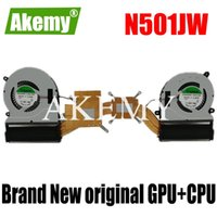 Wholesale cpu fan asus for sale - Group buy New For Asus ZenBook UX501 UX501J UX501JW UX501JW4720 N501J N501JW G501J G501JW CPU GPU FAN Cooling radiator Heasink FAN