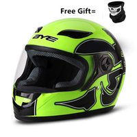 Wholesale helmet motorbikes resale online - BYE Motorcycle Helmet Men Full Face Helmet Breathable Comfort ABS Material Riding Motorbike Moto Motorcycle