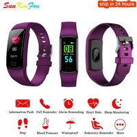 Wholesale samsung s5 rate online – For Samsung Galaxy S5 S4 S3 A9 A8 A7 A5 A3 Smart Wristband Sport Bracelet Heart Rate Monitor Watch Activity Fitness Tracker Band