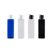 Wholesale conditioner bottles resale online - 250ml Flip Top Cap PET Bottles For Facial Cleanser Hair Conditioner Refillable Cosmetic Container For Personal Care