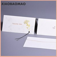 b дневные карты оптовых-5pcs envelope + 5pcs card Sweet warm Valentine's Day Bump Flower greeting card envelope Girlfriend boyfriend lover gift thanks b PueS#