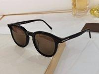 Wholesale ladies retro watch resale online - 816 sunglasses ladies fashion trend simple retro style anti ultraviolet lens round frame top quality free watch case