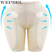 WEPBEL False Ass Butt lifter Sexy Push Up Intimate Body Shaper Hip Up Panty Padded Panties Underwear Women Seamless Lace Buttock LJ200917