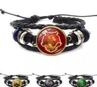 Wholesale harry potter glasses for sale - Group buy Jewelry Badge Wrap Ravenclaw Cabochon Bracelet Potter Multilayer Hufflepuff Harry Slytherin Bracelets Hogwarts Book Glass bbyvJ bde_home