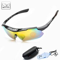 Wholesale outdoor sport night vision sunglasses for sale - Group buy MLLSE New HD Polarized Sports Sunglasses Men and Women Outdoor Goggles Windproof Ultraviolet proof Driving Eyewear Night Vision
