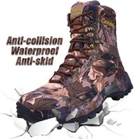 Wholesale man snow boots big size for sale - Group buy Winter Lace Up Waterproof Combat Ankle Tactical Snow Boot Army Men Boots Man Plus Big Size Work Shoes Mens New