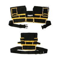 Wholesale waist bag for tools resale online - Multi Functional Electrician Tools Bag Maintenance Tool Storage Bag Waist Pouch Tool Waist Storage Tools Kit For Electrician