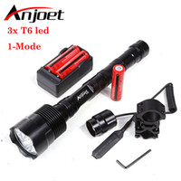 Wholesale flashlight tactical t6 mount for sale - Group buy Sets Powerful Mode Tactical Flashlight light Lm XML xT6 LED Lantern Torch Battery Charger Remote Switch Gun Mount Y200727