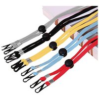Wholesale Face mask adjustable lanyard Extension Handy Convenient windproof Rope Rest Ear Holder Hang On Neck String Hat Lanyard Party Favor