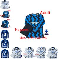 Wholesale soccer tops inter milan resale online - Long sleeves ALEXIS LUKAKU LAUTARO SKRINIAR Inter Milan soccer jersey Calcio GODIN BARELLA jerseys soccer top shirts