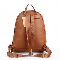 Wholesale gold backpacks resale online - 2020 new arrival Unisex PU High capacity Backpacks handbags European and American brand handbags hot shoulder bag handbag