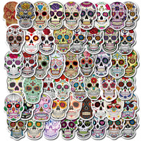 Wholesale diy halloween decorations for sale - Group buy Halloween Vinyl Stickers Bomb Horror Doodle Car Decals Waterproof for DIY Laptop Skateboard Bicycle Motorbike Decoration Gifts